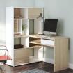 Mẫu bàn học gỗ MDF kèm tủ sách - VH 5